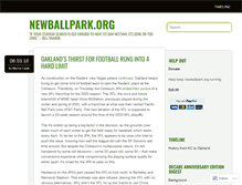 Tablet Preview of newballpark.org